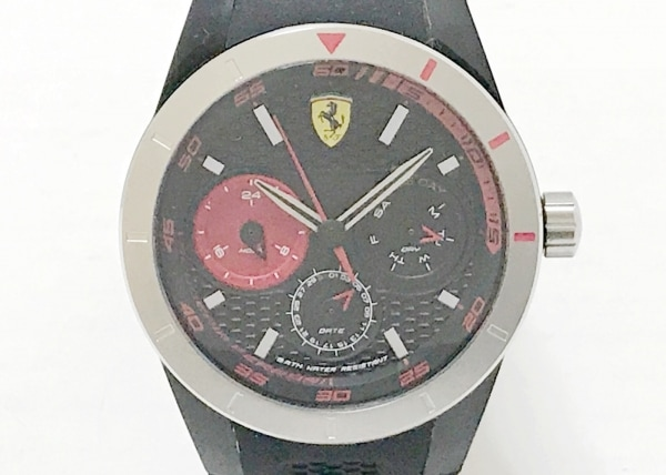 Ferrari(フェラーリ) 腕時計美品  SF.28.1.29.0228 メンズ 黒