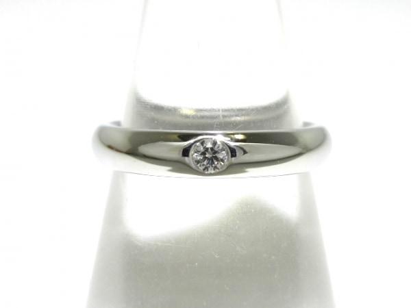 ハリーウィンストン リング美品  ラウンド・マリッジリング Pt950×ダイヤモンド
