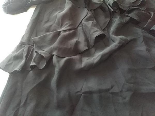 DRESS CAMP(ドレスキャンプ) ワンピース サイズ38 M レディース 黒 シースルー/フリル