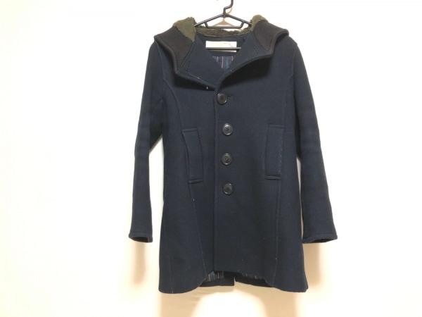 sunao kuwahara(スナオクワハラ) コート サイズL メンズ 黒 冬物