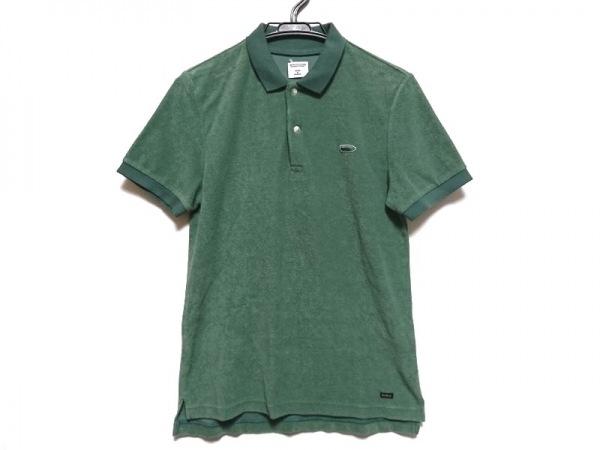 ROTT WEILER(ロットワイラー) 半袖ポロシャツ サイズS メンズ グリーン