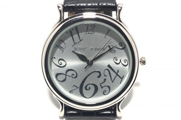 BETSEY JOHNSON(ベッツィージョンソン) 腕時計 U54-10 レディース シルバー