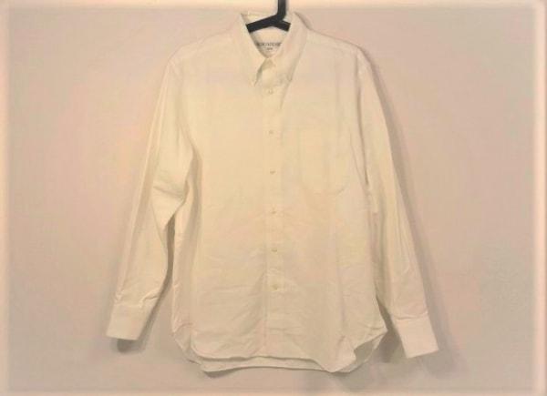 インディビジュアライズドシャツ 長袖シャツ サイズ15 1/2-33 メンズ 白