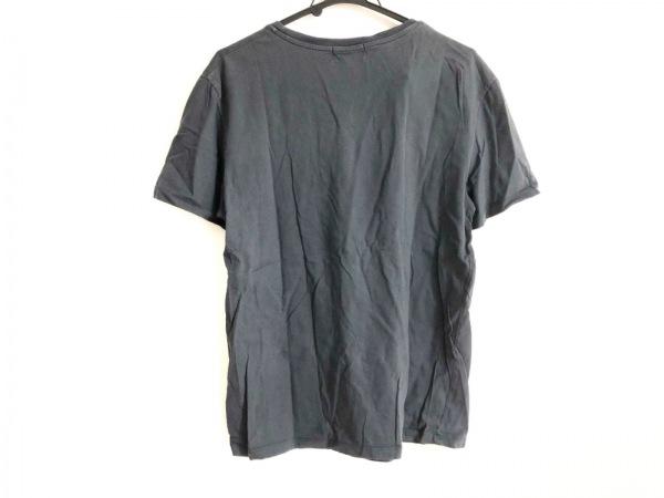 MAISON KITSUNE(メゾンキツネ) 半袖Tシャツ サイズS メンズ ダークグレー
