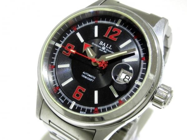 BALL(ボールウォッチ) 腕時計 ストークマン レーサー NM2088C メンズ 黒