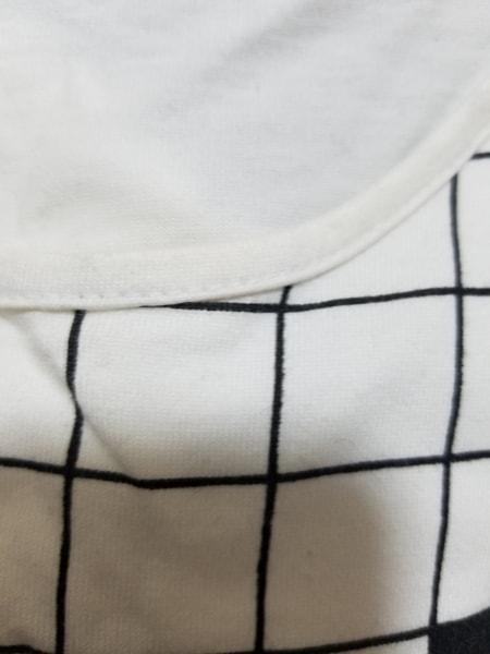 ランバンコレクション 半袖Tシャツ サイズ38 M レディース アイボリー×黒