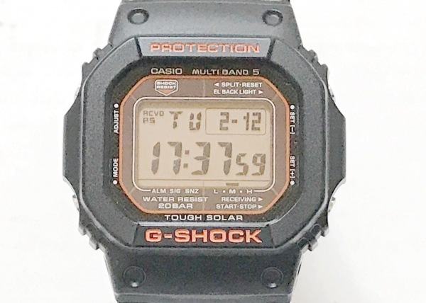 CASIO(カシオ) 腕時計 G-SHOCK GW-M5600R ボーイズ ラバーベルト グレー×黒