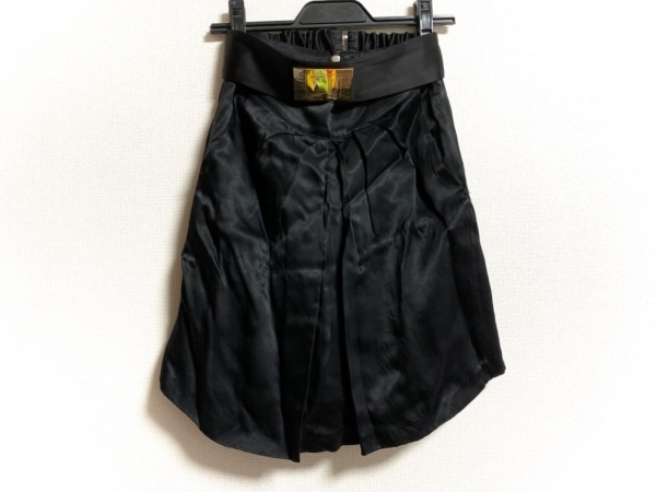 ELISABETTA FRANCHI(エリザベッタフランキ) スカート サイズ40 M レディース美品  黒
