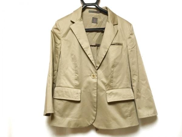 SEVENTY(セブンティ) ジャケット サイズ44 L レディース ベージュ 19.70