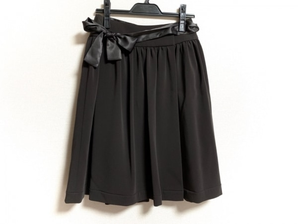 TO BE CHIC(トゥービーシック) スカート サイズ38 M レディース美品  黒