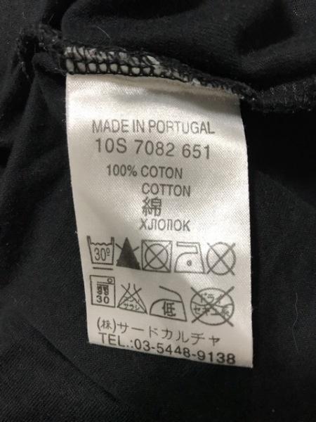 GIVENCHY(ジバンシー) 半袖Tシャツ メンズ 黒×白