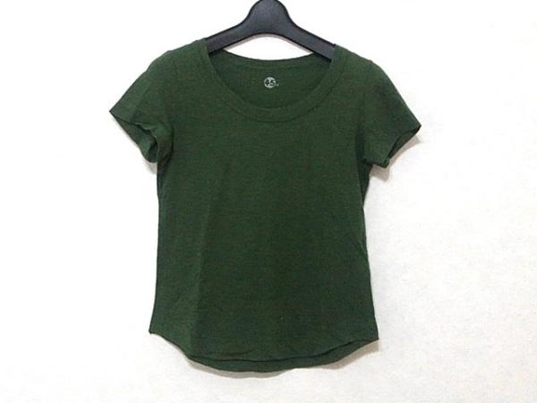 フォーティーファイブ・アール 半袖Tシャツ サイズ1 S レディース ダークグリーン
