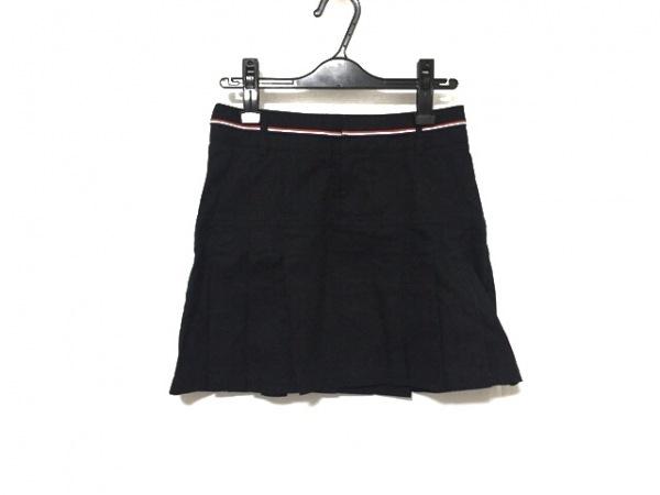 フレッドペリー スカート サイズS レディース美品  ダークネイビー×白×レッド