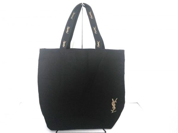 YvesSaintLaurent PARFUMS(イヴサンローランパフューム) トートバッグ 黒 キャンバス