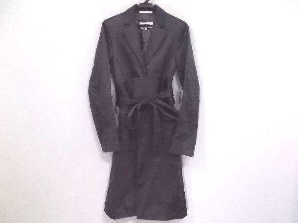 エムエムシックス コート サイズ36 M レディース ダークグレー 肩パッド/春・秋物