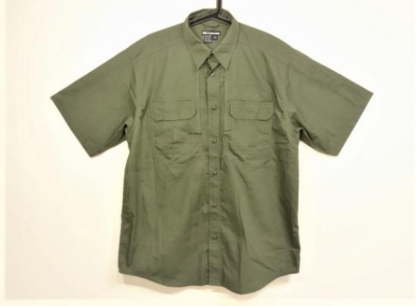 5.11 TACTICAL(5.11タクティカル) 半袖シャツ サイズL メンズ カーキ