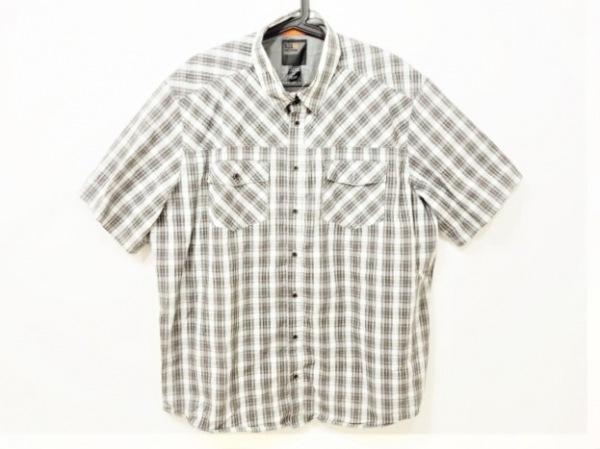 5.11タクティカル 半袖シャツ サイズextralarge メンズ美品  チェック柄