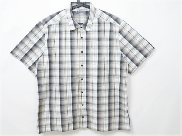 5.11タクティカル 半袖シャツ サイズXL メンズ ライトグレー×ブラウン×マルチ