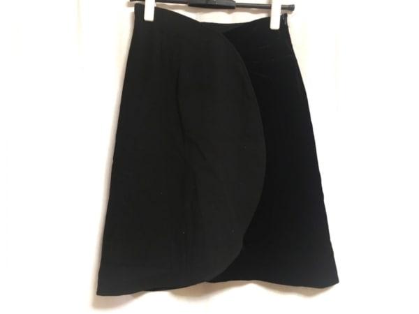 TAE ASHIDA(タエアシダ) スカート サイズ7 S レディース 黒