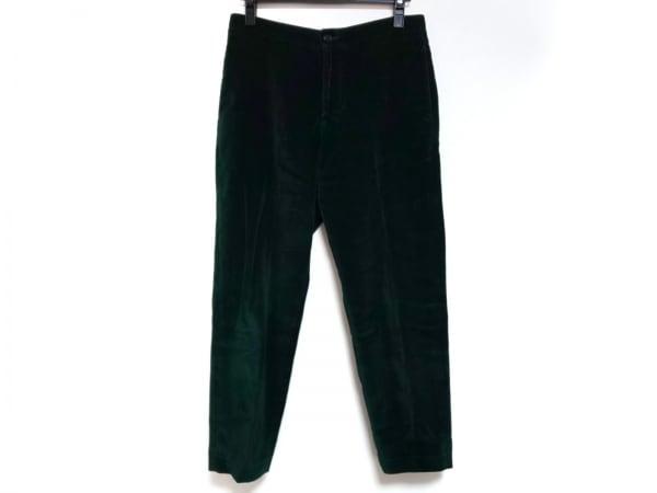 BARENA(バレナ) パンツ サイズ40 M レディース ダークグリーン ベロア