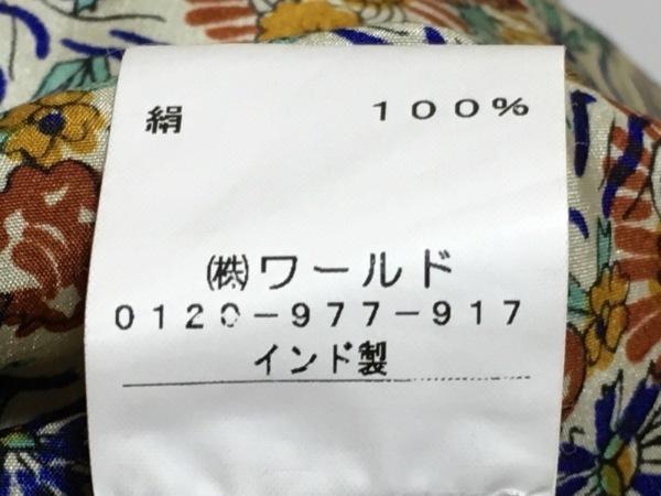 スターメラ カットソー サイズS/M レディース美品  アイボリー×マルチ ロング丈