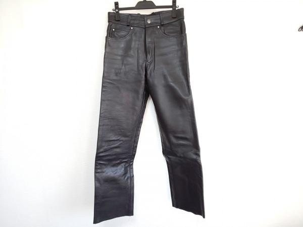 HARLEY DAVIDSON(ハーレーダビッドソン) パンツ サイズ30 メンズ美品  黒 レザー