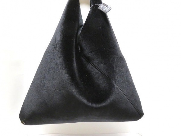 MM6(エムエムシックス) ショルダーバッグ美品  黒 化学繊維