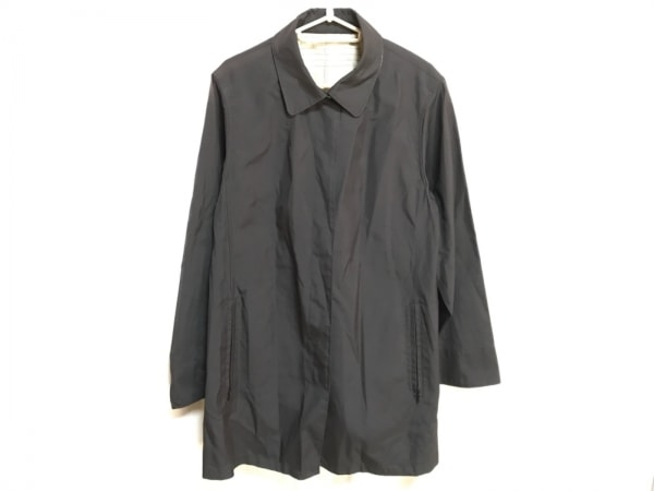 Seninon(セニノン) コート レディース 黒 ボタン/春・秋物 ポリエステル