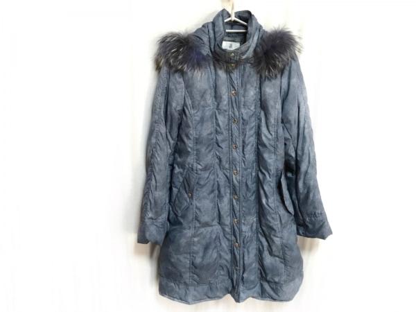 Seninon(セニノン) ダウンコート サイズ40 M レディース ネイビー 冬物