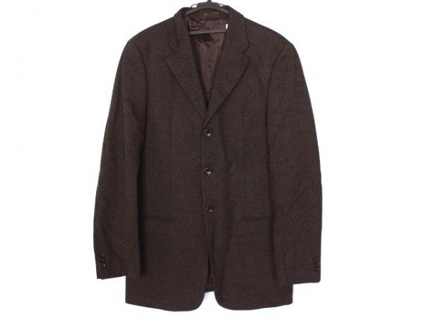 アルマーニコレッツォーニ ジャケット サイズ1 S メンズ美品  肩パッド