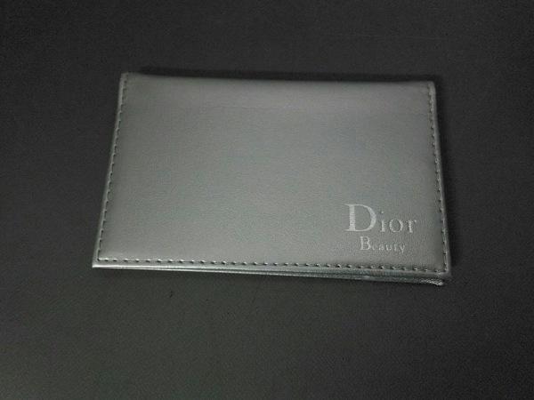 Dior Beauty(ディオールビューティー) ミラー美品  シルバー 合皮