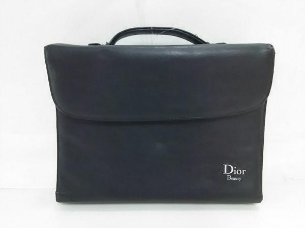 Dior Beauty(ディオールビューティー) ビジネスバッグ 黒 合皮