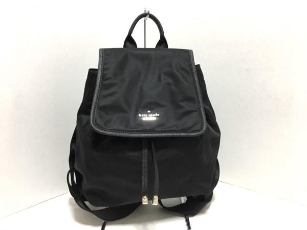 ケイトスペード リュックサック美品  クラシックナイロンモリー PXRU5386 黒