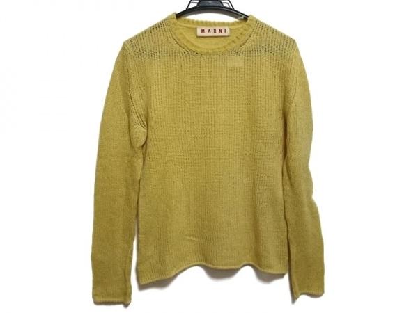 MARNI(マルニ) 長袖セーター サイズ44 L レディース美品  イエロー