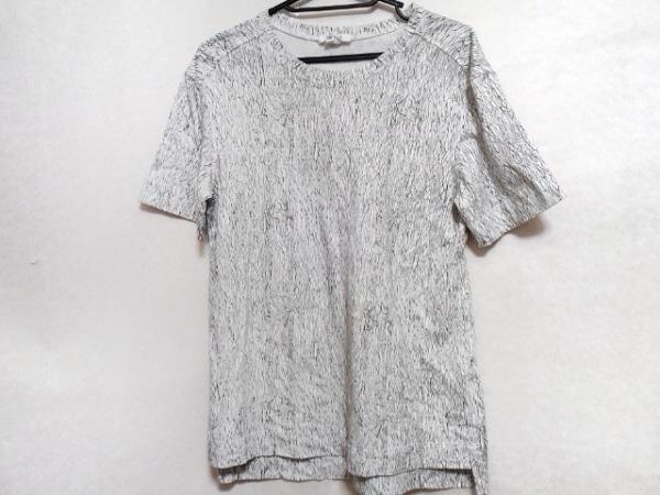 Helmut Lang(ヘルムートラング) 半袖Tシャツ サイズS レディース美品  白×黒