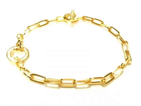 JAM HOME MADE(ジャムホームメイド) ブレスレット美品  金属素材 ゴールド