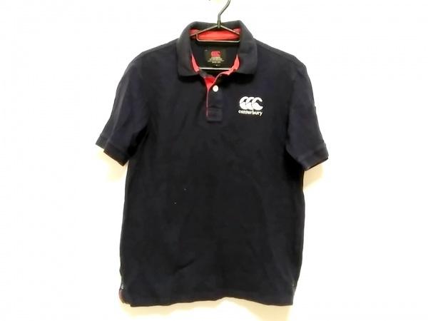 カンタベリーオブニュージーランド 半袖ポロシャツ サイズS メンズ 黒