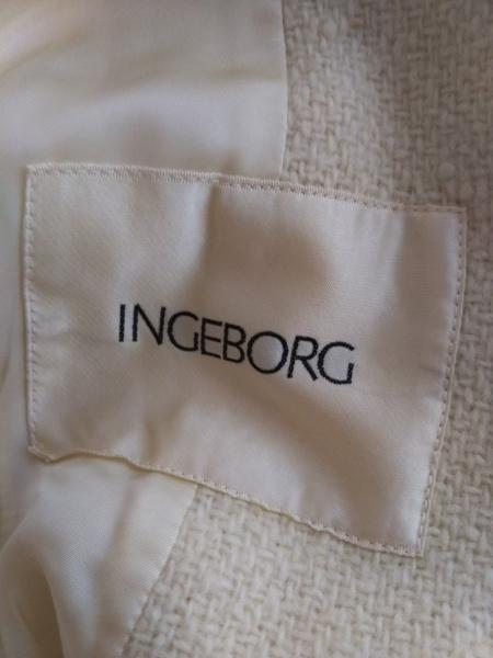 INGEBORG(インゲボルグ) コート レディース アイボリー 冬物
