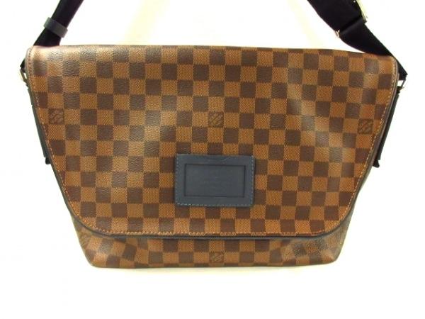 ルイヴィトン ショルダーバッグ ダミエ美品  スプリンターMM N41254 エベヌ