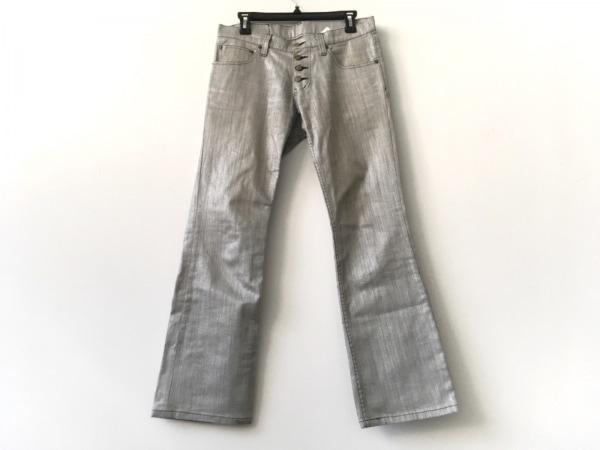 TORNADO MART(トルネードマート) パンツ サイズM メンズ ライトグレー×シルバー