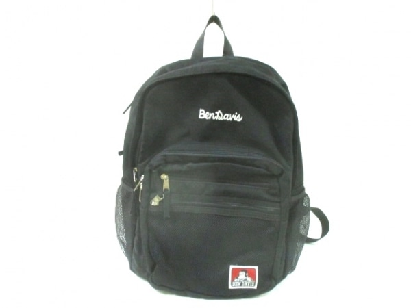 BENDAVIS(ベンデイビス) リュックサック 黒×白 ナイロン