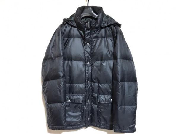 CROCODILE(クロコダイル) ダウンコート サイズL メンズ 黒 冬物