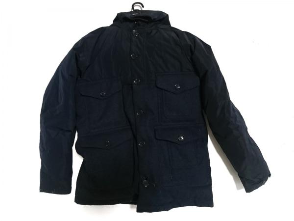 ABAHOUSE(アバハウス) ダウンジャケット サイズ46 XL メンズ美品  ネイビー