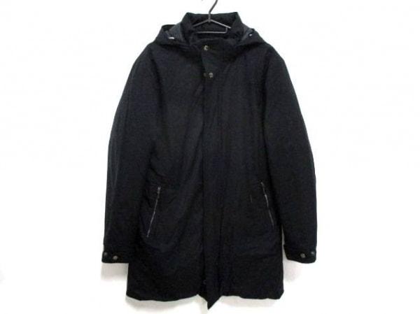 MOORER(ムーレー) ダウンコート サイズ50 メンズ美品  黒 ジップアップ/冬物