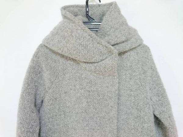 LENER(レネール) コート サイズ36 S レディース美品  ライトグレー 冬物