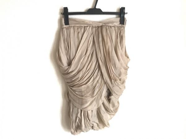BURBERRY PRORSUM(バーバリープローサム) スカート サイズ38 M レディース ベージュ