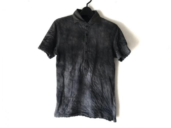 TORNADO MART(トルネードマート) 半袖ポロシャツ メンズ ダークグレー