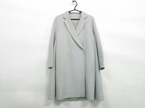 ENFOLD(エンフォルド) コート サイズ36 S レディース ライトグレー 春・秋物