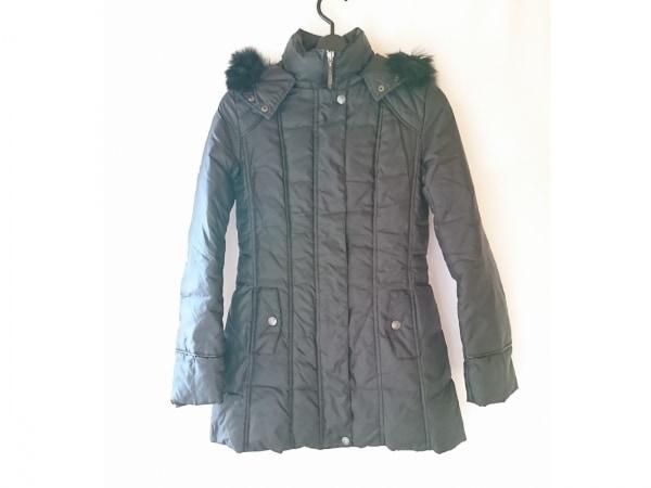 LEJOUR(ルジュール) ダウンコート サイズ36 S レディース 黒 ファー/冬物