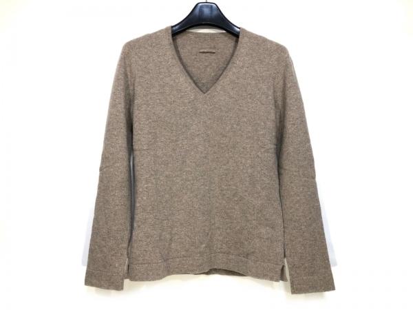 YURI+PARK(ユリパーク) 長袖セーター サイズ0 XS レディース グレージュ